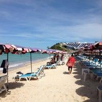 Photo taken at Samae Beach by Panuwat T. on 9/9/2012