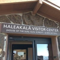 Photo taken at Haleakalā Vistor Center by Jeff M. on 3/29/2012