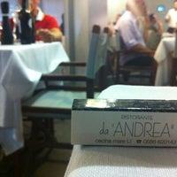 Photo taken at Ristorante Da Andrea by Giuditta B. on 8/4/2012