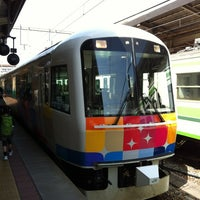 Photo taken at Niigata Station by Hiroshi K. on 4/28/2012