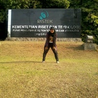 Photo taken at Gedung Teknologi 2 Puspitek Serpong by Intan A. on 8/19/2012