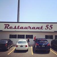 Photo taken at Restaurant 55 by Adam V. on 6/28/2012