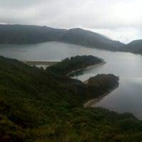 Photo taken at Miradouro da Bela Vista by Luiz V. on 7/23/2012
