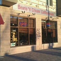 Photo taken at Beans 'N Cream Coffeehouse by Terrence on 4/6/2012