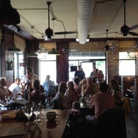 Photo taken at Virginia's on King by Katie W. on 5/28/2012