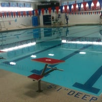 Photo taken at AHS Swimming Pool by Dan S. on 5/17/2012