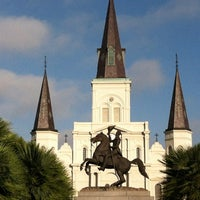 Photo taken at Jackson Square by Stacy F. on 3/18/2012
