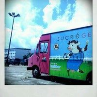 Photo taken at Sucré Gelato Truck by Meghan H. on 3/13/2012