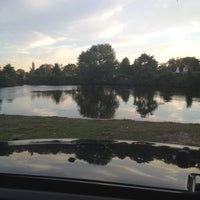 Photo taken at Cammann's Pond by Andrea on 7/25/2012