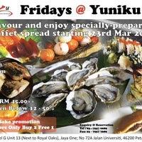 Photo taken at Yuniku by Joy C. on 3/23/2012