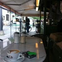 Photo taken at Espresso am Viktualienmarkt by EGON S. on 6/21/2012