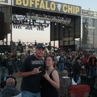 Photo taken at The Legendary Buffalo Chip by Becky K. on 8/5/2012
