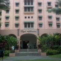 Photo taken at The Royal Hawaiian by Scott S. on 5/18/2012