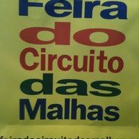 Photo taken at Feira do Circuito das Malhas by Bruna D. on 7/8/2012
