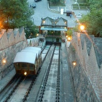 Photo taken at Buda Castle Hill Funicular by Dórus on 5/18/2012