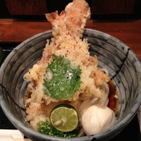 Photo taken at うどん棒 大阪本店 by noroomleftark *. on 9/7/2012