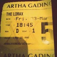 Photo taken at Artha Gading XXI by Aryanie D. on 3/23/2012