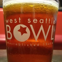 Photo taken at West Seattle Bowl by Steve W. on 4/20/2012