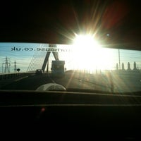 Photo taken at Flintshire Bridge by Carolyn S. on 9/2/2012
