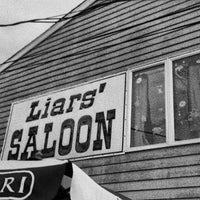 Photo taken at Liar's Saloon by Anthony C. on 5/28/2012
