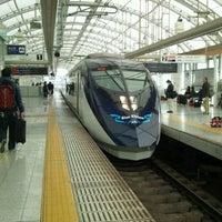 Photo taken at Nippori Station by Akira K. on 2/4/2012