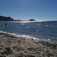 Photo taken at Playa Los Tubos by Jorge B. on 3/3/2012