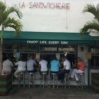 Photo taken at La Sandwicherie by Joe M. on 3/20/2012