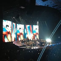 Photo taken at Wiener Stadthalle by Gerry S. on 9/4/2012