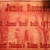 Photo taken at St. James Restaurant by Goshen M. on 4/14/2012