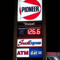 Photo taken at Pioneer Gas Station by Guido D. on 8/27/2012