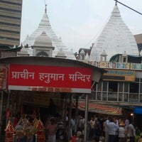 Photo taken at Sri hanuman temple by Hemanshu S. on 7/17/2012
