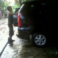 Photo taken at AULIA Car Wash by Nanda S. on 2/14/2012