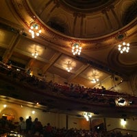 Photo taken at Victoria Palace Theatre by Dan S. on 5/24/2012