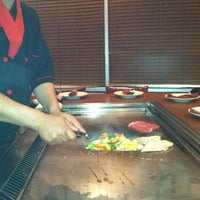 Photo taken at Mikado Steak House & Sushi Bar by Mitch S. on 4/8/2012