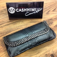 Photo taken at Cashhimi Showroom by Jackie M. on 6/5/2012