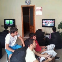 Photo taken at Arena Playstation Cafe by Erkan A. on 9/2/2012