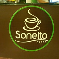 Photo taken at Sonetto Caffe by Michel S. on 6/30/2012
