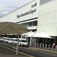 Photo taken at Glasgow Airport (GLA) by Mac F. on 6/5/2012