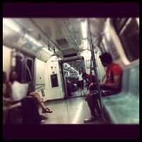 Photo taken at 4. Levent Metro İstasyonu by Şerif S. on 6/25/2012