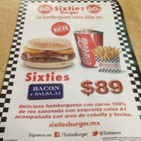 Photo taken at Sixties Burger by Gilmar A. on 8/8/2012