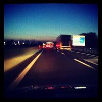 Photo taken at A11 - Prato Est by Lorenzo S. on 6/5/2012
