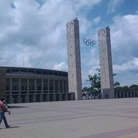 Photo taken at Olympiastadion by Michiel Z. on 6/8/2012