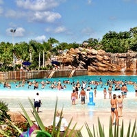 Photo taken at Disney's Typhoon Lagoon Water Park by Marisol F. on 7/29/2012