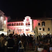 Photo taken at Piazza della Vittoria by Ivano on 7/21/2012