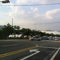 Photo taken at 부산 아시아드 보조구장 by Jeff Y. on 5/17/2012