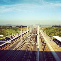 Photo taken at Gare SNCF de Lorraine TGV by Alban L. on 7/29/2012