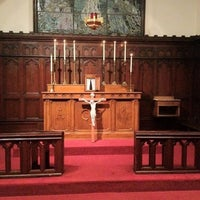 Photo taken at Saint John's Anglican Church by Lee N. on 4/7/2012