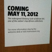 Photo taken at The Eiteljorg African Gallery by Chris L. on 4/7/2012