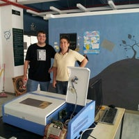 Photo taken at ChaiHuo 柴火 Hackerspace by Michael M. on 5/4/2012
