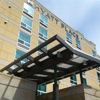 Photo taken at Hyatt Place Salt Lake City/Downtown/The Gateway by Brian F. on 5/20/2012